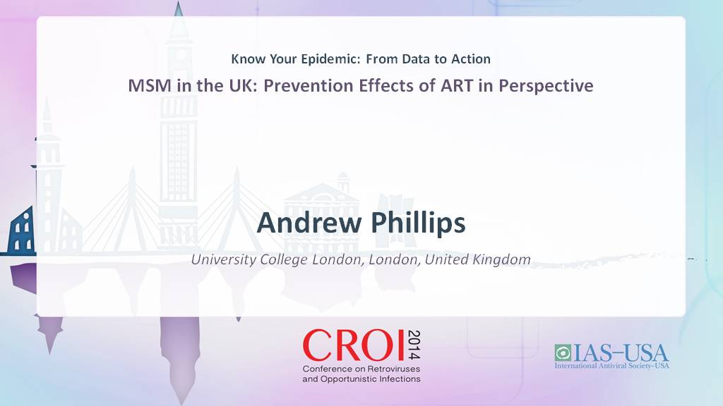 Player Andrew Phillips - Know Your Epidemic: From Data to
